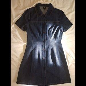 Denim Tshirt Dress (S)